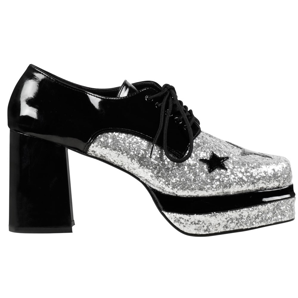 funky disco plateau schuhe f r herren. Black Bedroom Furniture Sets. Home Design Ideas