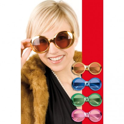 Partybrille Shining-Star in 4 Farben