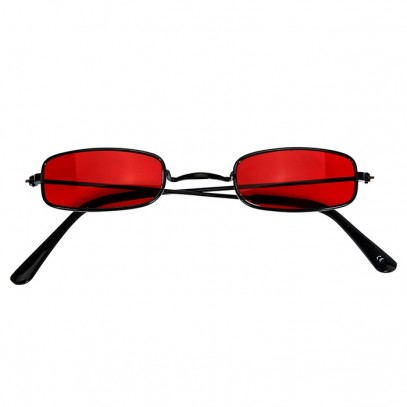 Dracula Brille in rot 1