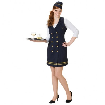 Stewardess Damenkostüm