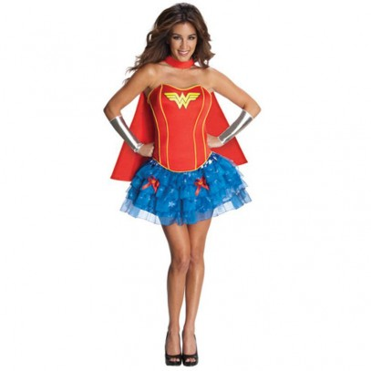 Wonder Woman Corset Dress Damen
