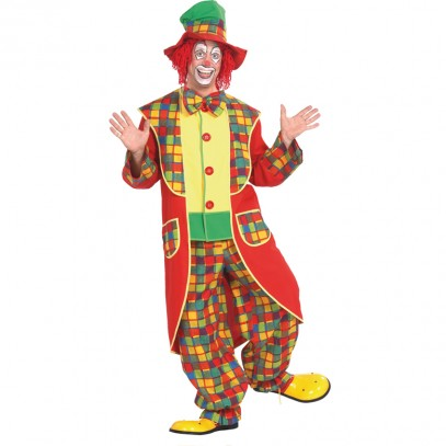 Clown mit Hut Kostüm