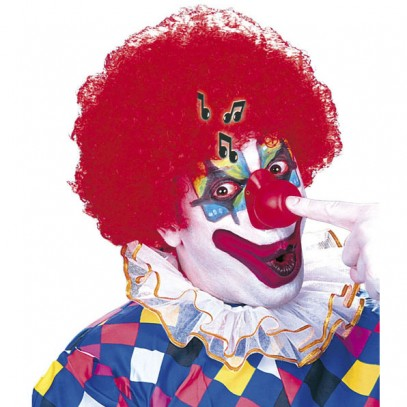 Clown Nase mit Soundeffekt in rot