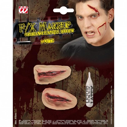 FX Special Make-up Schnittwunden 2er-Set