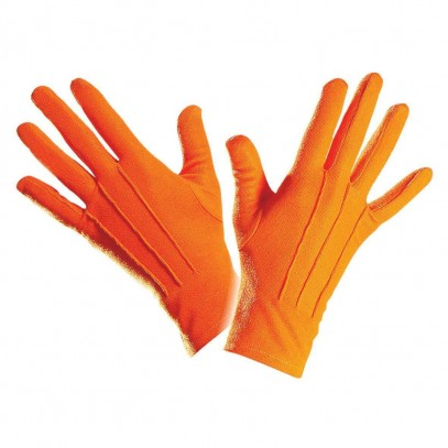 Handschuhe in orange