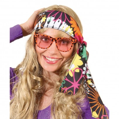 Hippie Stirnband Flower-Power