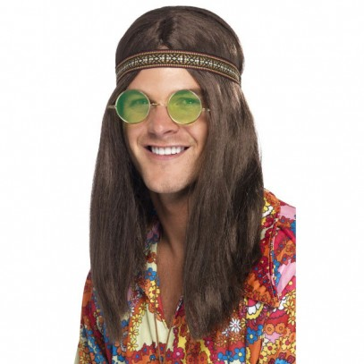 68er Hippie Dude Set 3-teilig