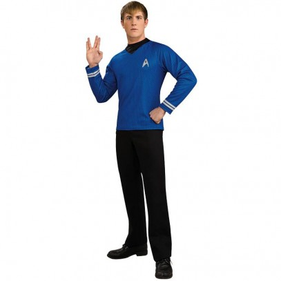 Star Trek Deluxe Shirt blau