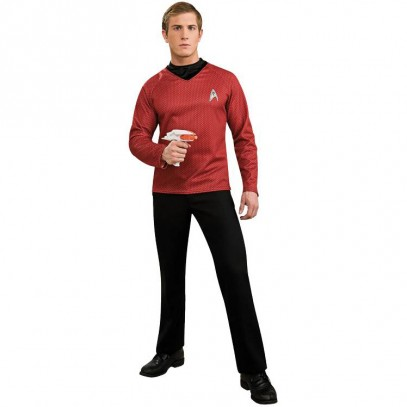 Star Trek Deluxe Shirt rot