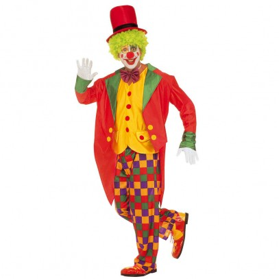 Lustiges Zirkus Clown Kostüm