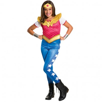 DC Super Hero Wonder Woman Kinderkostüm