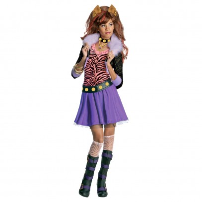 Clawdeen Wolf Monster High Kostüm 1