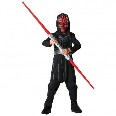 Star Wars Kostüm Darth Maul für Kinder