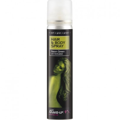 Haar- und Bodyspray UV in gruen