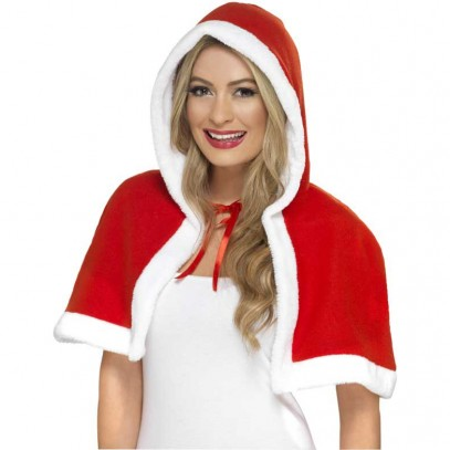 Miss-Santa-Claus Mini-Cape