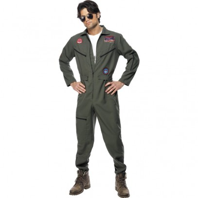 Top Gun Piloten Herrenkostüm