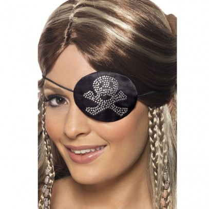 Pirate Beauty Piraten-Augenklappe 1