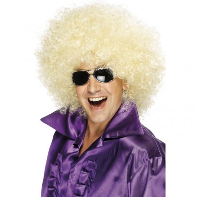 Disco Daddy Afro Perücke blond