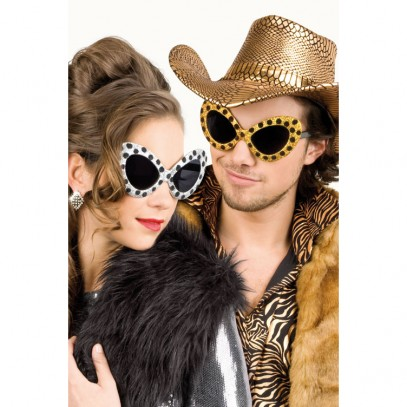 Safari Partybrille in 2-Styles