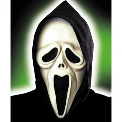 Screaming Maske Shocked Ghost