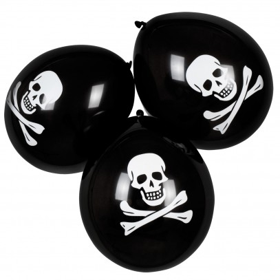 6 Piraten Ballons