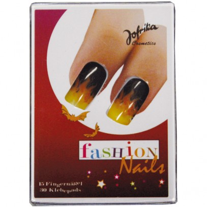 Fashion Nails Flamme Fingernägel