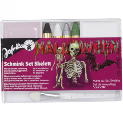 Schmink-Set Skelett