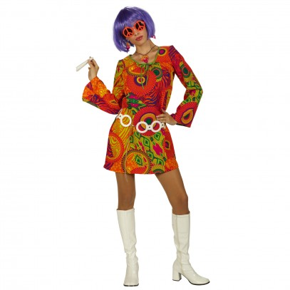 Happy Flower Power Kleid