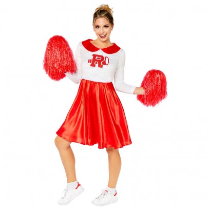 Sandy Cheerleader Damen Kostüm Deluxe