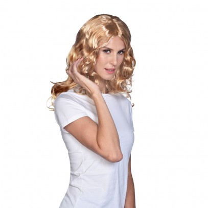 Reizende Lady Locken-Peücke blond