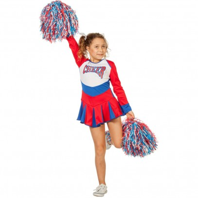 American Cheerleader Kinderkostüm