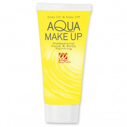 Aqua Make Up Tube gelb