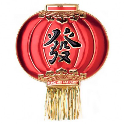 Asiatische Lampion Wanddekoration