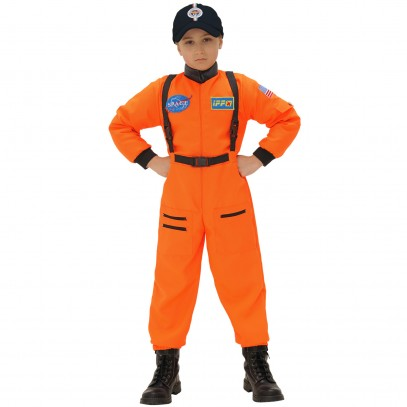 Astronaut Kinderkostüm orange