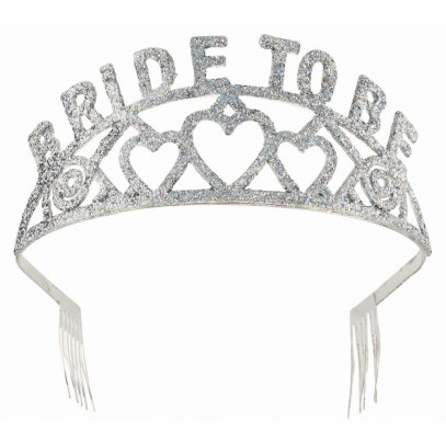 Bride To Be Glitter Diadem