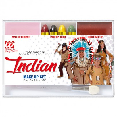 Beauty Make-Up Set Indianer