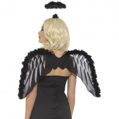 Black Beauty Angel Set 2-teilig