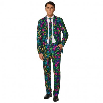 Suitmeister Floral Anzug