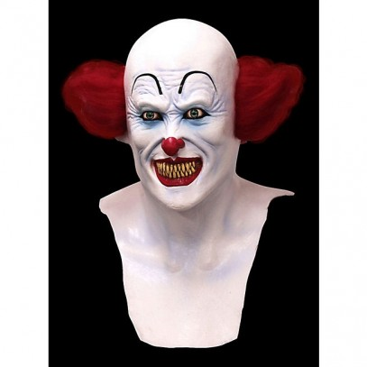 Pennywise Horror Clown Latex Maske