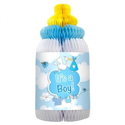 Deko Babyflasche It's a Boy!