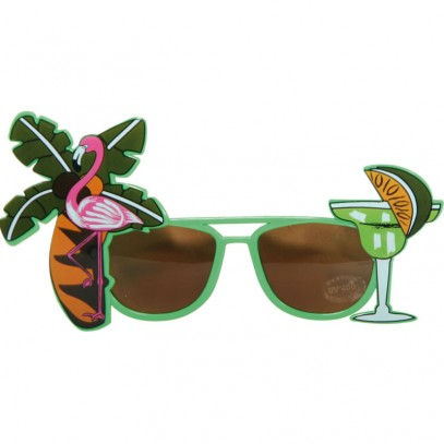 Cocktail Brille Aloha