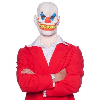 Crazy Smiling Clown Maske