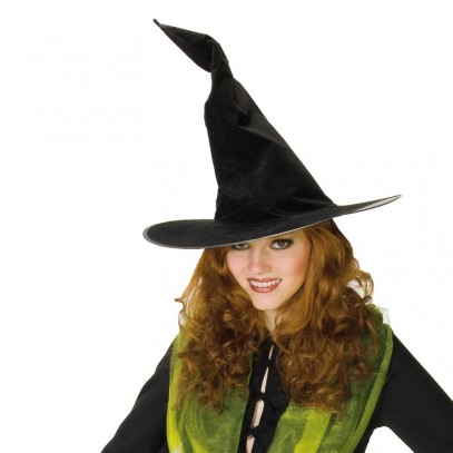 Crinkle Witch Hexenhut samtbeschichtet (Default)