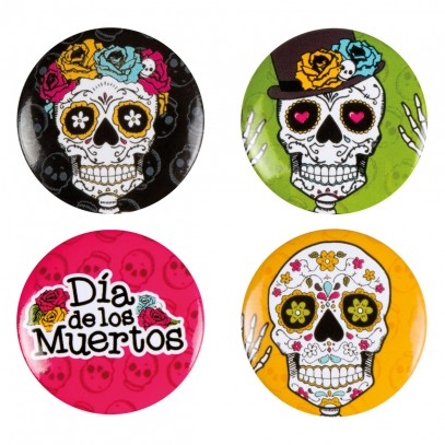 Day of the Dead Bottons