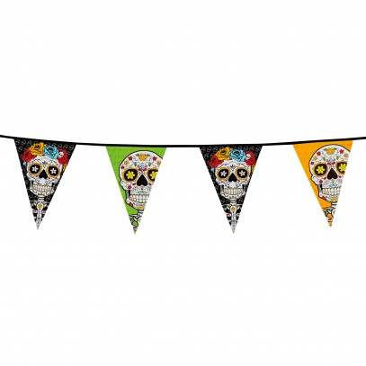 Day of the Dead Girlande