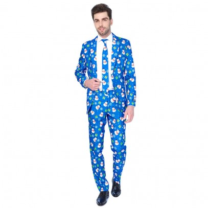 Suitmeister Christmas Blue Snowman
