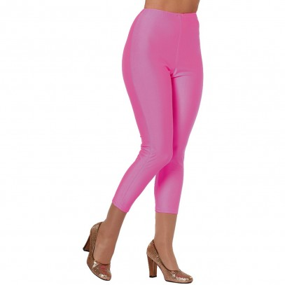 Disco Party Leggings neon-pink