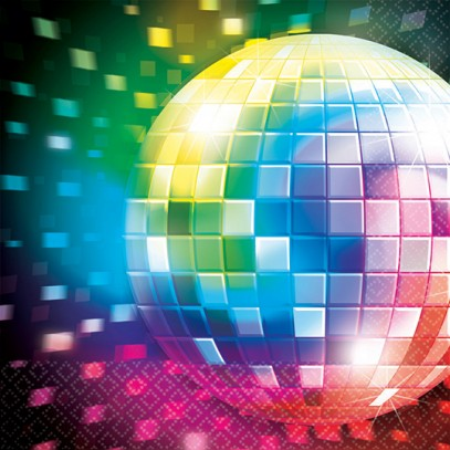 Disco Fever Servietten 16er-Set