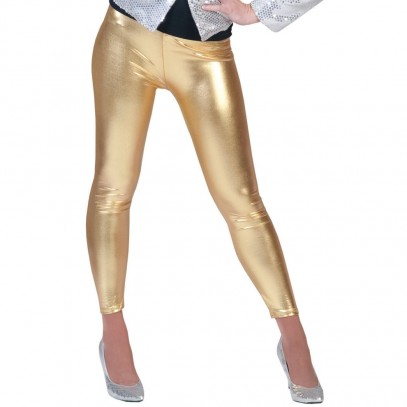 Disco Party Leggings gold