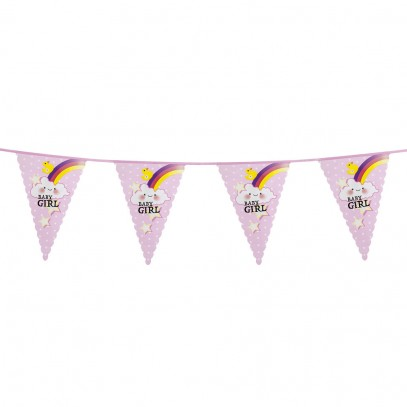 Baby Girl Party Wimpelkette 6m